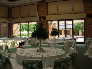 Enchanted Wedding Package, Plano Centre, Plano — Windhaven room wedding setup