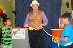 Goodfriend Entertainment, Allen — MrGoodfriend performs fun and amazing magic for kid's birthday parties in the Allen, Plano, Frisco, McKinney, Dallas, Fort Worth, Texas and surrounding cities.