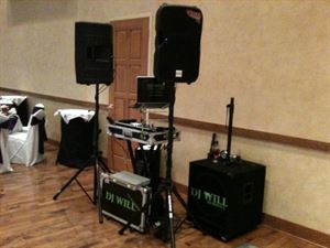 Wedding, Party & Event Pack, DJ Will (Dj Service) — dj set up small and clean is what you need!