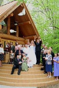 1 Hour Wedding or Special Event Package, Gary Winger Photography, Sevierville — Dove release