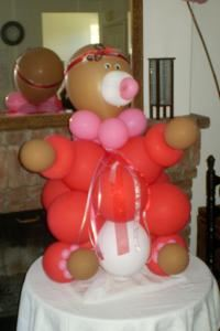 Sugar & Spice Balloon Creations, Ontario — Large Baby Balloon Sculpture