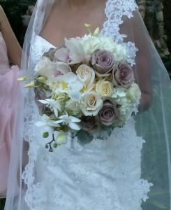 Divine Floral by Gina, Simi Valley — Lisa & Arturo Firefighter wedding so beautiful