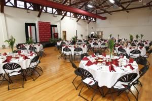 Alumni Gym Multi-purpose Faciltiy, Maryville College, Maryville — Alumni Gymn Multipurpose Center - banquet ready!