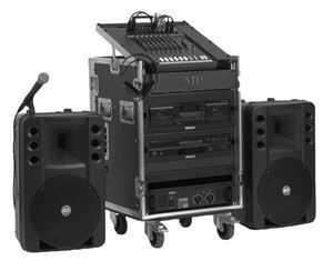 Wedding Ceremony Sound System Package I, AJ Productions - DJ Birmingham, Birmingham — An example of an AJP Sound System. Please note that componant parts will differ