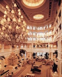 Grand Floridian Lobby, Disney's Grand Floridian Resort & Spa, Orlando
