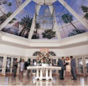 South West Foyer, Disney's Grand Floridian Resort & Spa, Orlando — The sky's the limit in the Grand Foyer.