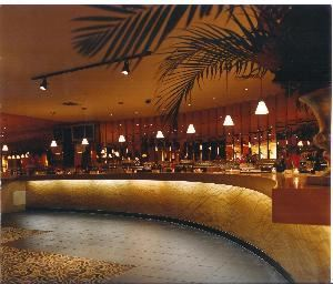 Carmen Miranda Ballroom, The Copacabana Times Square, New York — Custom 40 Foot Bar