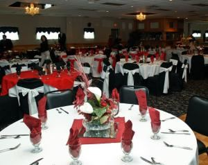 Platinum Bridal Reception All Inclusive Sit Down Dinner Package, Personal Touch Catering, Buxton