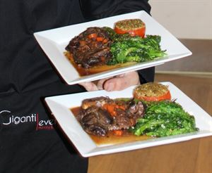 Gourmet Weekend Retreat, Giganti Events Planning and Catering, Grimsby — Ossobuco di vitello