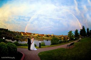 Topaz Package, Hilton Garden Inn Auburn Riverwatch, Auburn — Wedding Rainbow