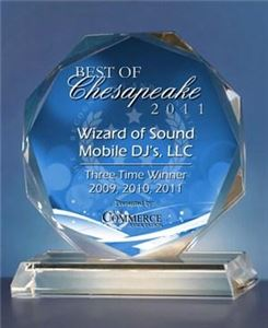 Wizard Twin Package, Wizard of Sound Mobile Disc Jockey's, LLC, Chesapeake