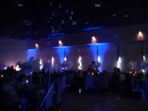 "Silver Reception Package, Just Rite Music, Fayetteville — We also offer ""Uplighting"" for your special day!"