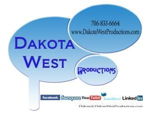 Dakota West Productions, LLC, Grovetown — Dakota West Productions for all DJ / Band needs. 7068336664.