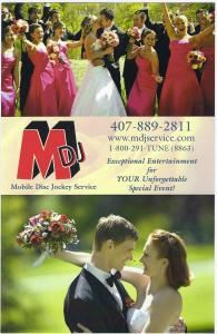 Mobile Disc Jockey Service, Apopka — Mobile Disc Jockey Service, Orlando's Exceptional Entertainment Company. Over 25 Years of Experience! Visit www.mdjservice.com.