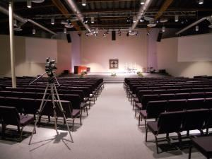 ZipZing Studios, Long Beach — Fully modular auditorium that can seat up to 520.  Perfect for classes, seminars, meetings, receptions, stage perfomances and more.