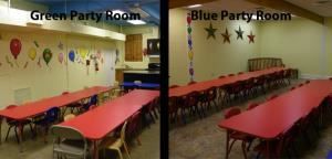 Birthday Party Room, The Children's Museum Of Memphis, Memphis