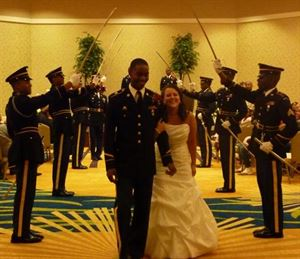 Friday 10 Hour Wedding Package without Catering, Morrow Center, Morrow — Military Ceremony