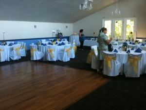 Private Reception Hall, Blue Prynt Restaurant & Bar, Sacramento