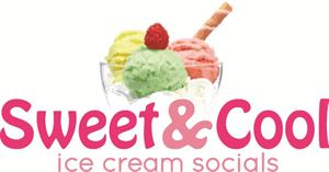 Ice Cream Sundae Bar Package, Sweet & Cool Ice Cream Socials, Upper Marlboro — Logo
