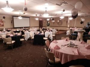 Roundabout Diner and Lounge, Chill Catering And Event Center, Portsmouth — Our function room can hold up to 100 guests. Business meetings, wedding rehearsals, dance parties or any reason to hold a super event with the best food around.