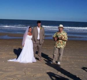 Hal Aaron, Philadelphia — Beach Wedding Ceremony - Rehoboth Beach, DE.