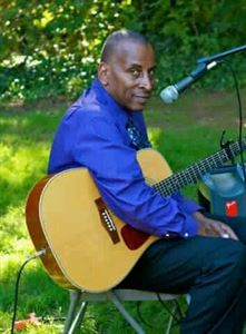 Acoustic guitar player singer, Alvin Madison, Union — Alvin Madison