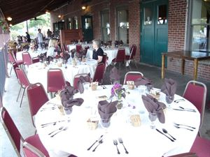 Rehearsal Dinner for $35 per person all inclusive, The Water Street Inn, Stillwater — Covered Patio