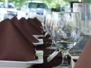 All Inclusive -Intimate and Elegant, The PineCrest & 91 South - Inn, fine food and wine, Gorham — Reception for 80