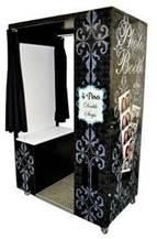 Susquehanna Photo Booth, Lancaster — This is our Classic Style Photo Booth that sits 2-3 people at a time. We also offer an Extended Photo Booth that fits more than 6 people at a time.