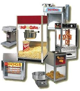 Carnival Food & Game Rental Package, A Popcorn Lady Production, Atlanta