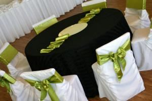 Northwest Spectacular Events, Bellingham — Chair Covers Bellingham WA. Chair Covers $1, Organza and Satin  Sash $0.25, tablecloths, table runners, table overlays, napkins and much more.....