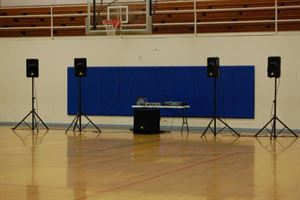 Most simple package & inexpensive package, CAPTiNDANCE, Caldwell — Over view of system minus lights