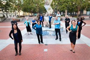 Oakland Jazz Choir, Oakland — The Oakland Jazz Choir