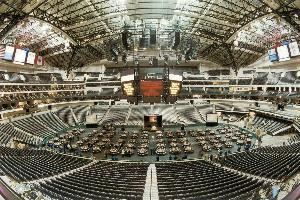 American Airlines Arena Floor, American Airlines Center, Dallas