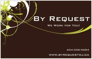 The Basic 4 Hour Wedding / Party Package, By Request DJ & Karaoke Services, Hope — By Request logo