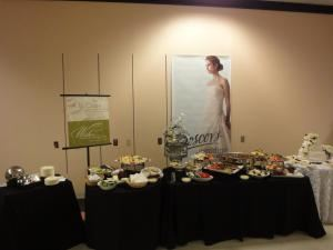 Boscov's Ala Carte Catering, Reading — Wedding show display