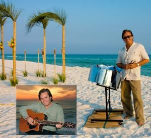 Chuck Lawson Live Music & DJ, Destin — Chuck Lawson provides Professional Live Music & DJ for Wedding Ceremonies, Receptions, Rehearsal Dinners, Private Parties, Corporate Events, Special Events, Festivals, & More! Live Steel Drums, Guitar, Conch Shell, & More!  He also provides full DJ service- Free of charge. You get the Best of Both for the price of One!  Everyone hears music they know and love... Everyone!!!  Caribbean, Calypso, Reggae, Rock, Country, Classic Rock, Oldies, Pop, Dance, & More!  Live-Solo with a full band sound, Duo, Trio, Full Band & DJ available. Book Chuck & ALL your Music worries go AWAY!