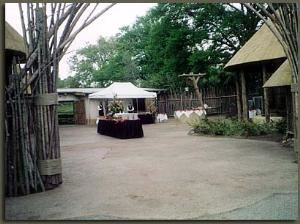 African Village & South Plaza (Combined), Woodland Park Zoo, Seattle — African Village and South Plaza