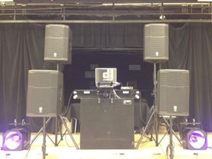 Prom, Senior Ball & Grad Night, Dj Stallion Entertainment, Martinez — School Dance Set-Up