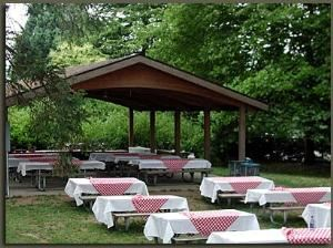 Picnic Shelter, Woodland Park Zoo, Seattle — Picnic Shelter