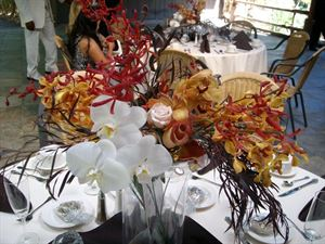 Elegant Centerpiece (4 flower types) Event Package, Beautiful Blooms by Larry, Carlsbad