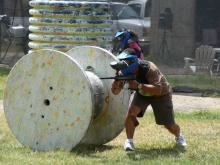 Urban War Zone Paintball, Houston