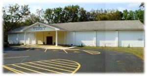 Mokanna #329, Orlando — Mokanna #329 Masonic Lodge, 35 paved parking spaces plus additional parking in grass areas.  7,000 sq ft of meeting space.