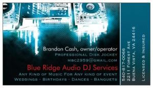 Blue Ridge Audio DJ Services