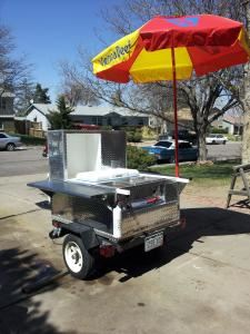 Lodaddys HOTDOGGIN, LLC, Aurora — Licensed and insured. Health dept inspected and approved. Served from cart HOT DOGS, HOT LINKS, NACHO'S, PULLED PORK ETC