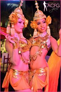 Beautiful Greeters / Dancers - Elaborate Costumes, A Concept Fashion Group, Hialeah — Thailand Greeters