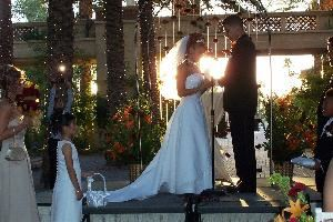 Palm Court (Palm 1 and Palm 2), Arizona Grand Resort, Phoenix — Ceremony - Palm Court.
