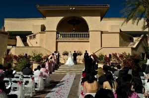 Fountain Circle, Arizona Grand Resort, Phoenix — Ceremony - Fountain Circle.