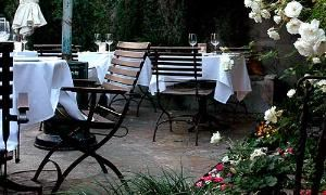 Patio, Cafe La Boheme, West Hollywood