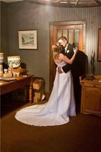 All Inclusive Wedding Reception Package, The Norsemen Restaurant And Walker Lake Resort, Huntsville — Couple in Lobby